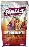 Halls Sugar Free Drops, Honey-Berry, 25-Count Drops (Pack of 12)