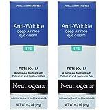 Neutrogena Ageless Intensives Eye Cream, Deep Wrinkle, 0.5 Oz / 14 G (Pack of 2)