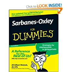Sarbanes-Oxley For Dummies (9780470223130)