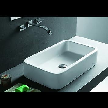 lux aqua badm bel waschtisch keramik waschbecken aufsatzbecken 4962 dc429. Black Bedroom Furniture Sets. Home Design Ideas