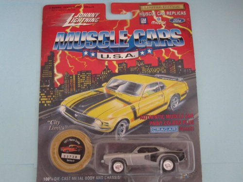 Johnny Lightning 1994 Muscle Cars USA Silver 1971 Hemi Cuda Series 8