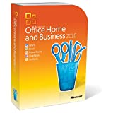 Microsoft Office Home and Business 2010 (2 PCs, 1 User)by Microsoft Software