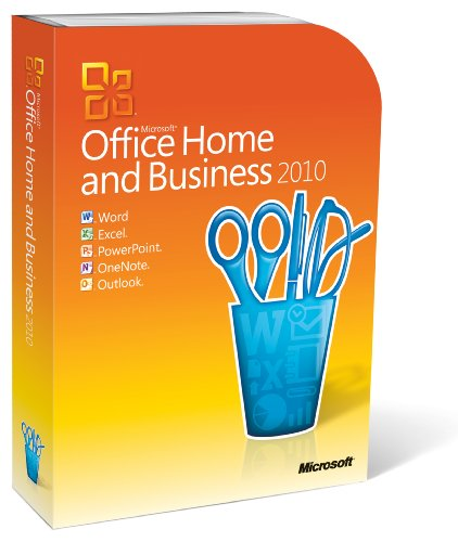 Microsoft Office 2010 Home and Business, 1 User (PC DVD)