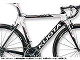 クォータ(KUOTA) 16'KOM(ケーオーエム) ロードフレームセット ホワイト×レッド S(485) 6S80306054014