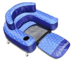 Swimline Nylon Convertible Inflatable Pool Lounger