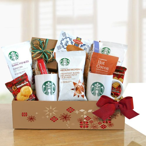 Starbucks Home for the Holidays Gift Basket