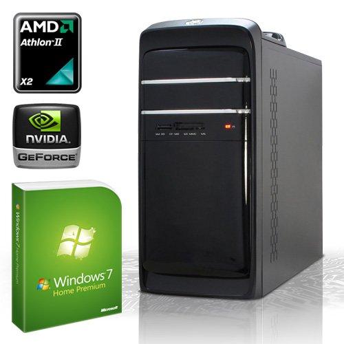 PC [184087] - AMD Athlon II X4 640 4x3.0 GHz Quadcore | 4GB DDR3-1333 | 500 GB SATA2 (3gb/s) | AMD Radeon HD3000 Grafik | 22xDVD-RW | ASUS M5A78L-M LX V2 | 6-Kanal-Sound | GigabitLAN | Cardreader | 420W | Design-Gehäuse | Maus + Tastatur | Microsoft Windows 7 Home Premium 64-Bit