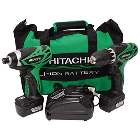 Hitachi KC10DFL Impact Driver and Drill Driver