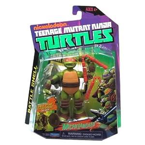 Teenage Mutant Ninja Turtles Battle Shell Mike Action Figure