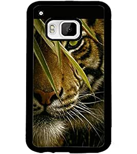 ColourCraft Tiger Look Design Back Case Cover for HTC ONE M9