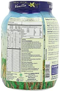 Garden of Life Raw Organic Meal Vanilla, 1115 Gram