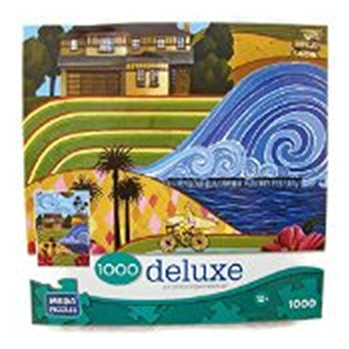 Deluxe 1000 Piece Jigsaw Puzzle: California