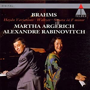 Brahms: Haydn Variations; Waltzes; Sonata in F minor