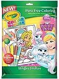 Crayola Mess Free Color Wonder Disney Princess Markers & Coloring Pad