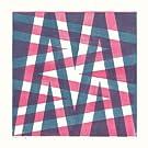 M by James Brown (Alphabet Lino Print)