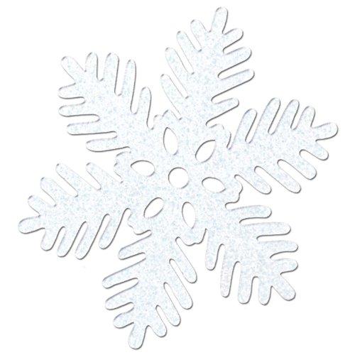 Sparkle Snowflakes   (4/Pkg)