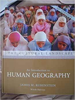 Rubenstein ap human geography 9th edition