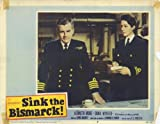 Sink the Bismarck Poster Movie H 11 x 14 In - 28cm x 36cm Kenneth More Dana Wynter Carl Möhner Laurence Naismith Karel Stepanek