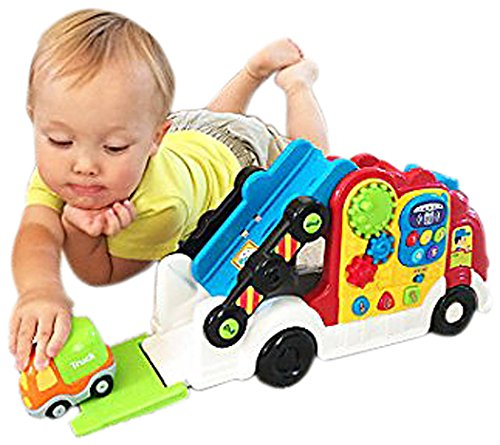 Vtech Go! Go! Smart Wheels- Car Carrier front-1023779