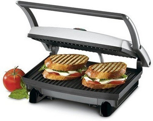 Nova Panni NSG-2439  700-Watt 2-Slice Sandwich Maker (Black/Grey)