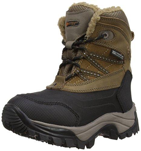 Hitachi - Stivali da neve O003136/041/01 Bambini e ragazzi, Marrone (Tan/Black), 35.5 (3 UK)