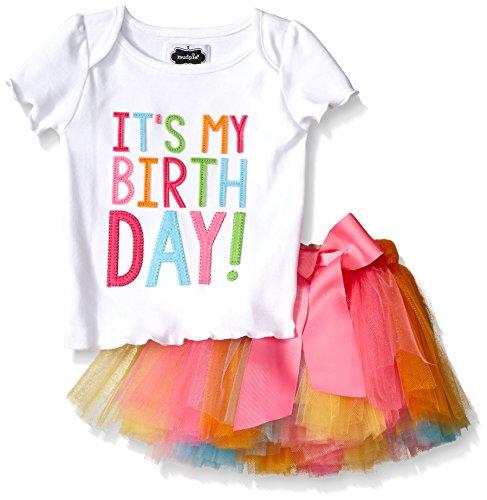 Mud Pie Baby Girl's Birthday Tutu,  Multi,  12-18 Months (Mud Pie Girl 18 Months compare prices)