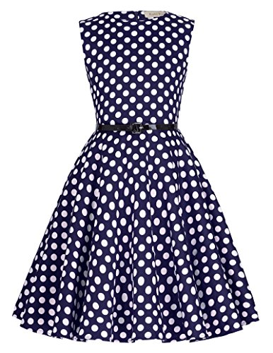 Vintage Cocktail Swing Party Dresses for Girls 12# 11-12yrs (Girls Vintage Dress compare prices)