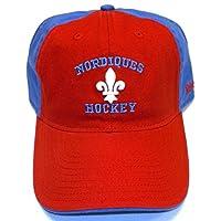 NHL Quebec Nordiques Slouch Strap Back Reebok Hat - Osfa - EZH77