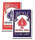 BICYCLE(バイスクル) 86 ライダーバック トランプ 赤/青 ブリッジサイズ 2デックシュリンクパック