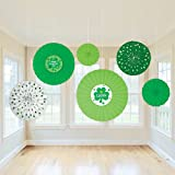 St. Patrick s Day Paper Fan Set of 6 Party Accessory