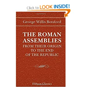 Roman Assemblies Tribal Assembly | RM.