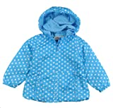 London Fog Girls Polka Dot Print Jacket