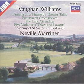 Vaughan Williams: Tallis Fantasia; Fantasia on Greensleeves; The Lark Ascending etc.