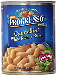Progresso Cannellini Beans, 19-Ounce (Pack of 24)