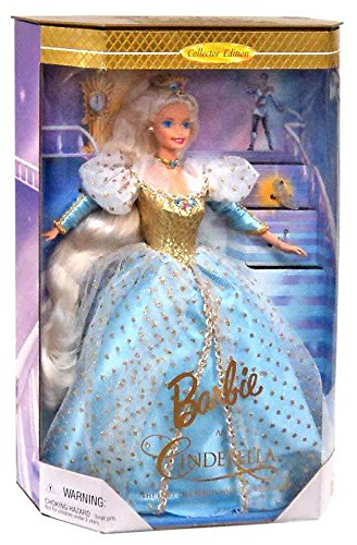 Barbie As Cinderella - Barbie Doll By Mattel Children's Series 1997