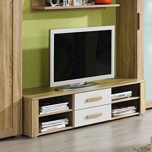 Lowboard TV Unterschrank RAKKO221 Eiche Sonoma Nachbildung, alpinweiß günstig kaufen