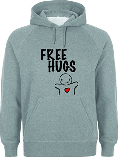 Free Hugs Cute Medium Unisex Hoodie