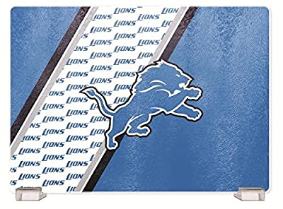 NFL Detroit Lions Glass Cutting Board