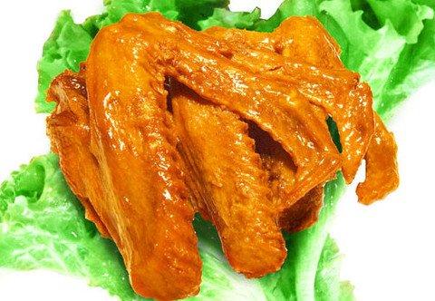 Duck Ton Duck Neck Spicy Duck Wing 唐老鸭鸭脖-香辣鸭翅 1袋(400g)购乐吧 免邮费