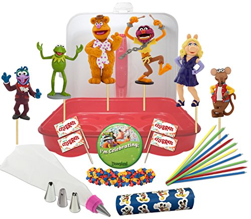 Disney s the muppets deluxe cake cupcake topper