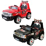 1234-Buy 12V Twin Motor Ride on Jeep with Parent Remote Control (Black)