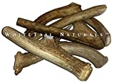 One Pound Pack- Premium Deer Antler Dog Chews - WhiteTail Naturals Brand