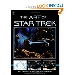 The Star Trek: The Art of Star Trek by Judith Reeves-Stevens and Garfield Reeves-Stevens