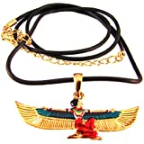 Maat Pendant - Collectible Medallion Necklace Accessory Jewelry
