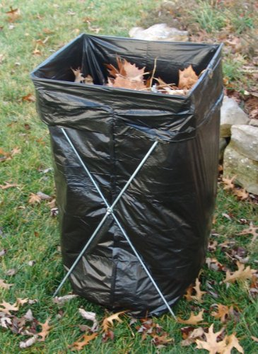 Trash Bag Holder Caddy 52d4 Outdoor Carts Amp Bins