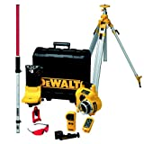 Dewalt Full Self Levelling Rotary Laser Application Kit