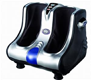 Deluxe Foot, Leg, Ankle, and Calf Massager (Massaging and Vibration)