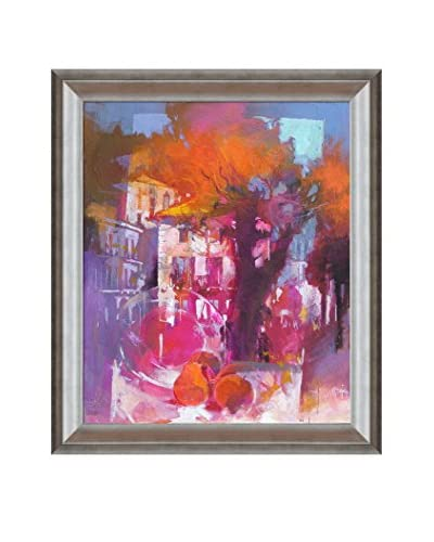 "Alex Bertaina ""Caro Olmo"" Framed Canvas Print"