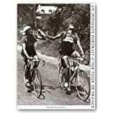 Archrivals Gino Bartali and Fausto Coppi - Tour De France by Sports Pressee Art Print Posterby First Art Source