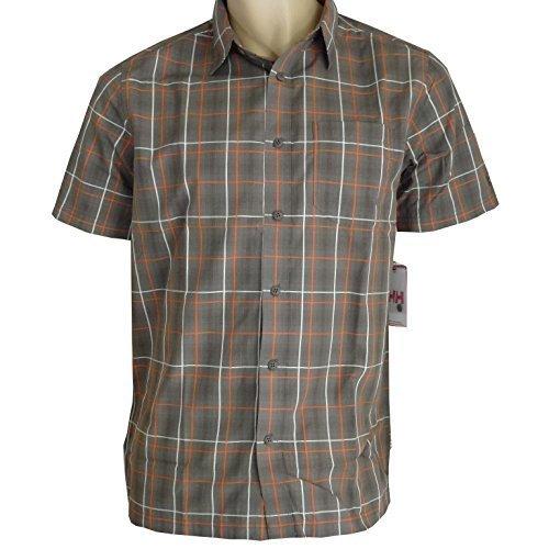 Helly Hansen camicia di tempo camicia a maniche corte da uomo XS-XXL marrone